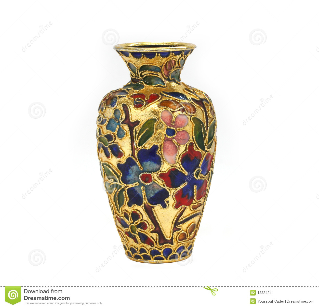 Decorative Pot Stock Images - Image: 1332424