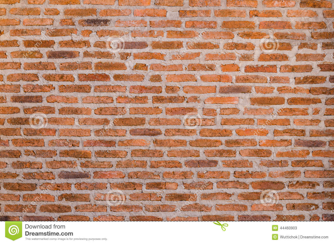 Decorative Red Brick Wall Texture Stock Image Image