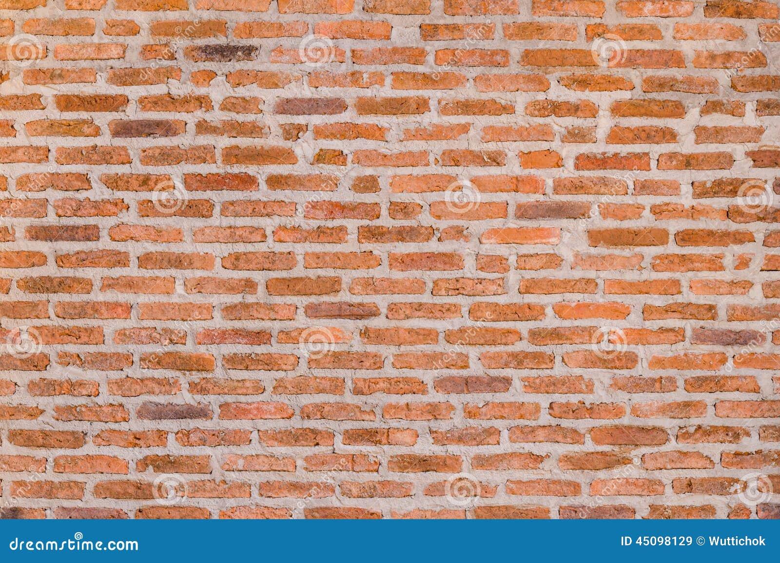 Decorative Brick Walls : Decorative red brick wall texture stock image of