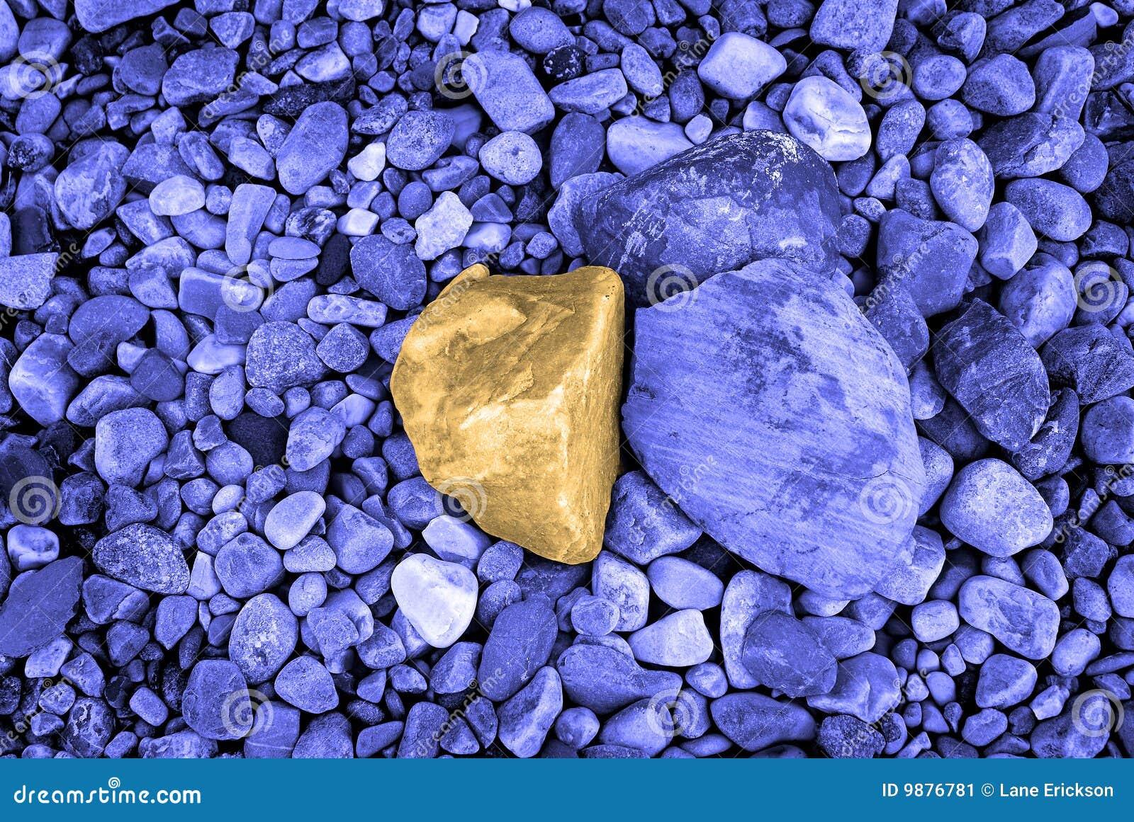 Decorative rocks stock image image 9876781 for Large outdoor decorative rocks