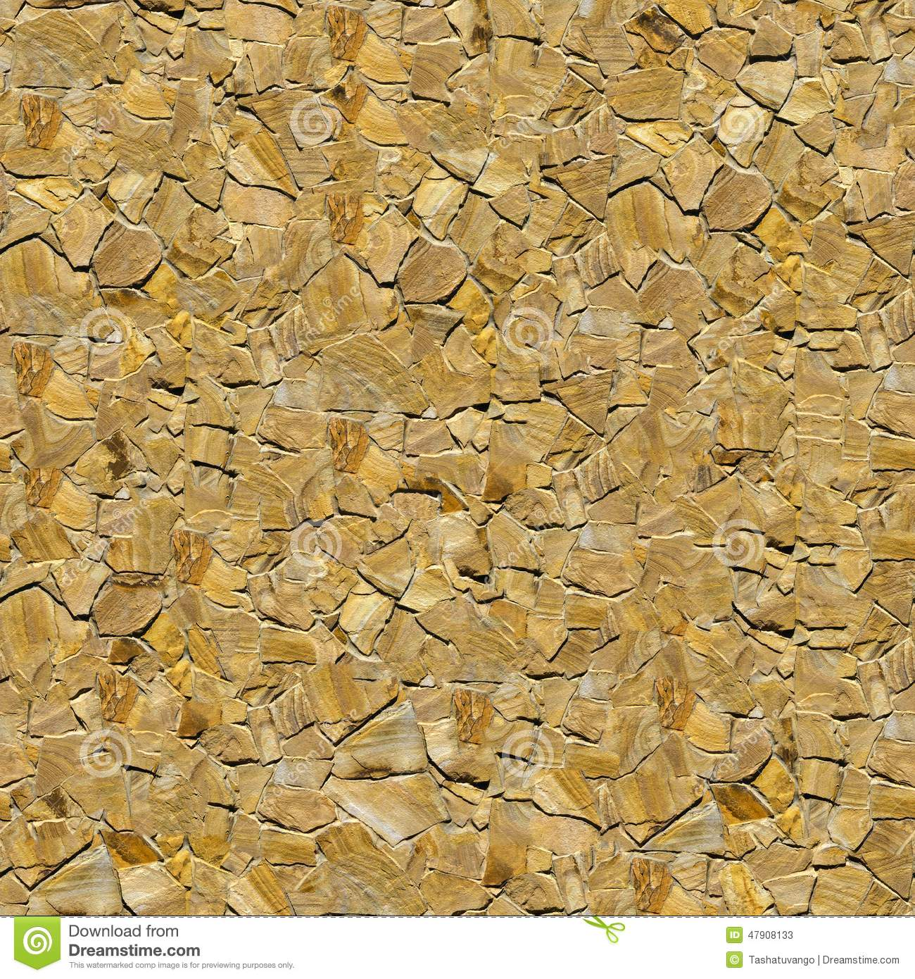 Decorative Sandstone Wall. Seamless Texture. Stock Image - Image of ...