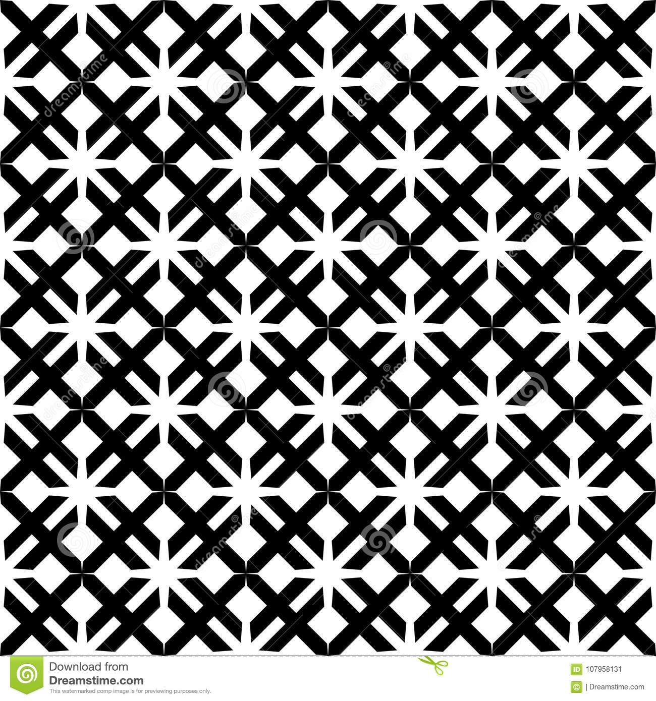 Vector seamless abstract diagonal pattern black and white. abstract background wallpaper. vector illustration.