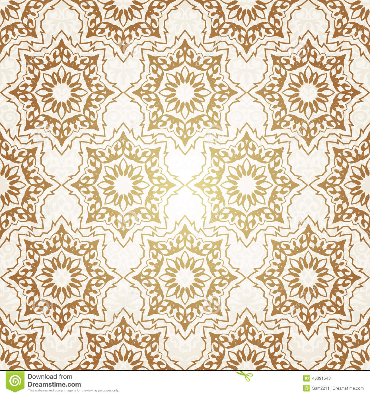 decorative seamless pattern in ottoman motif stock photo  image  - decorative mosaic motif ottoman pattern