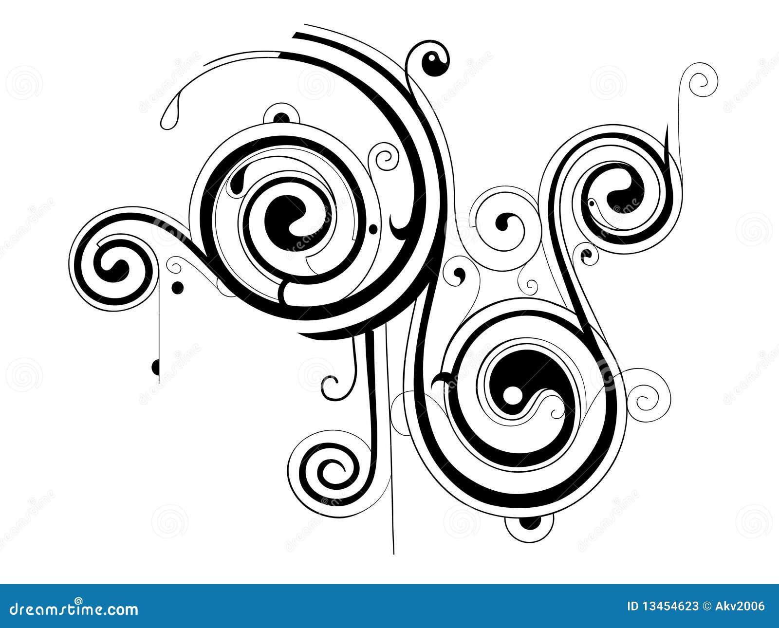 Decorative Shape Stock Photos - Image: 13454623