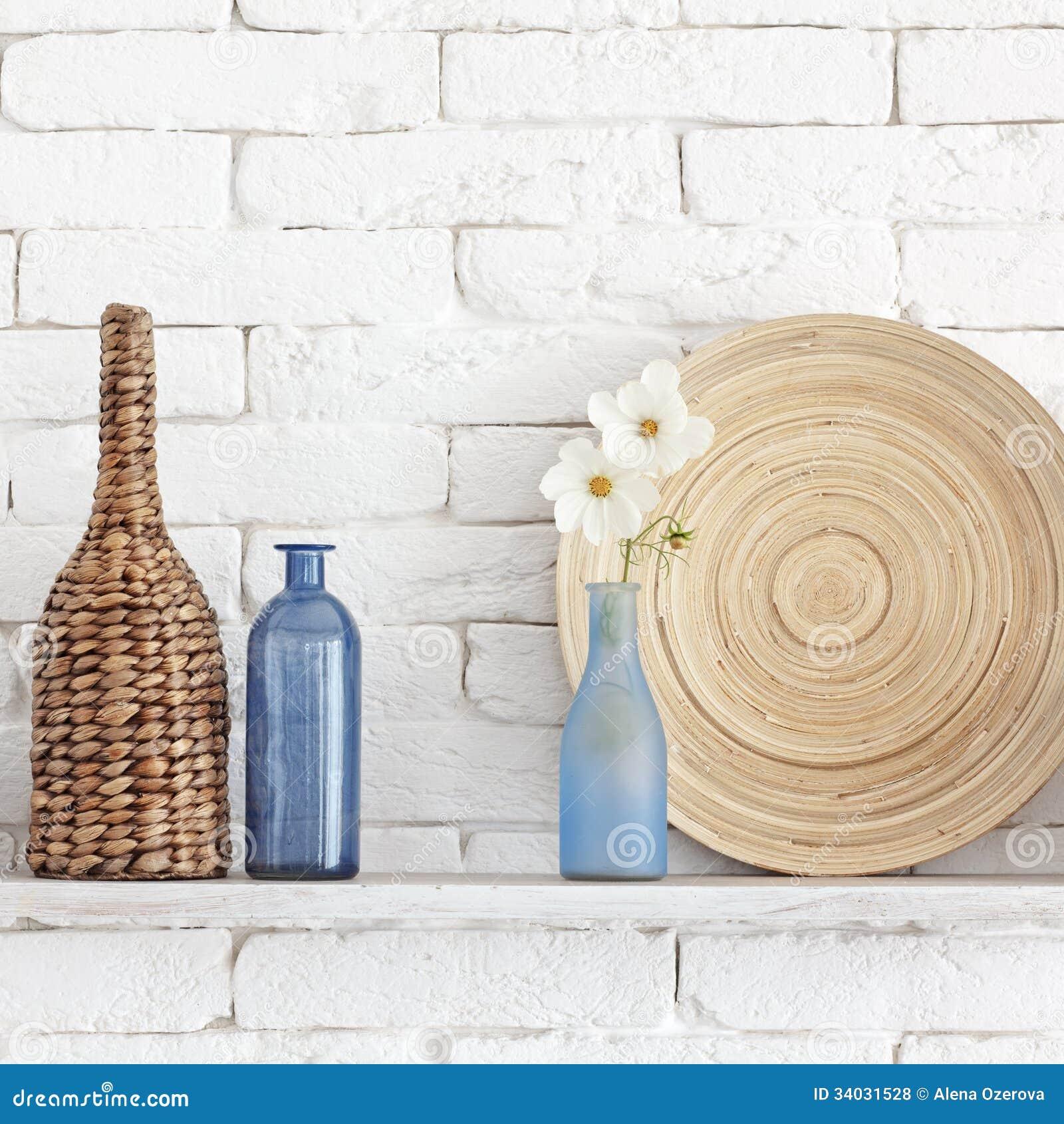 Decorative Shelf Stock Photo Image Of Background