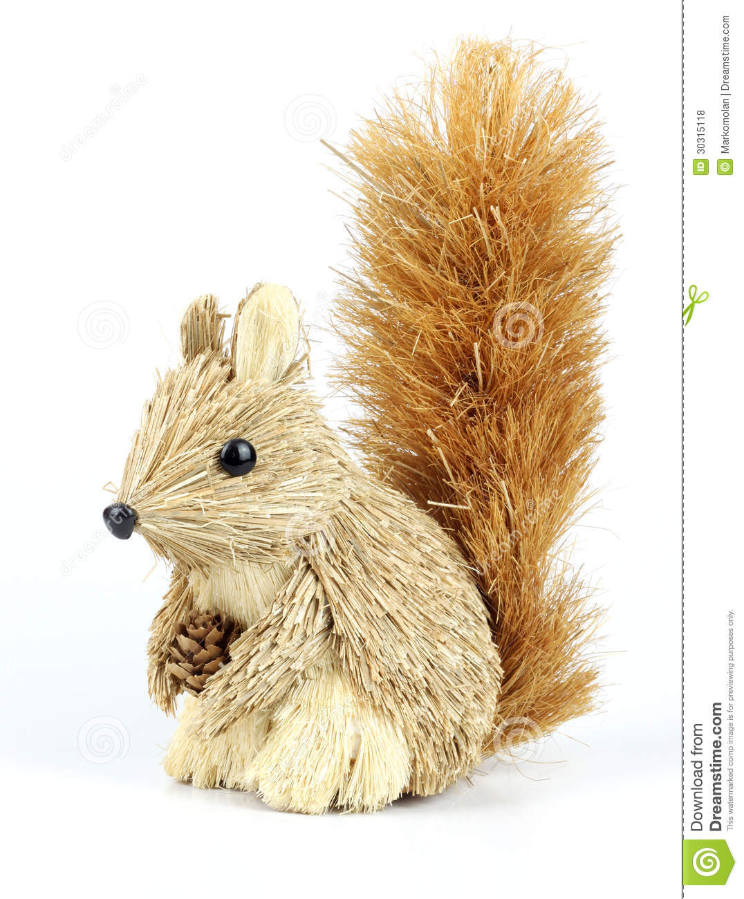 Decorative squirrel