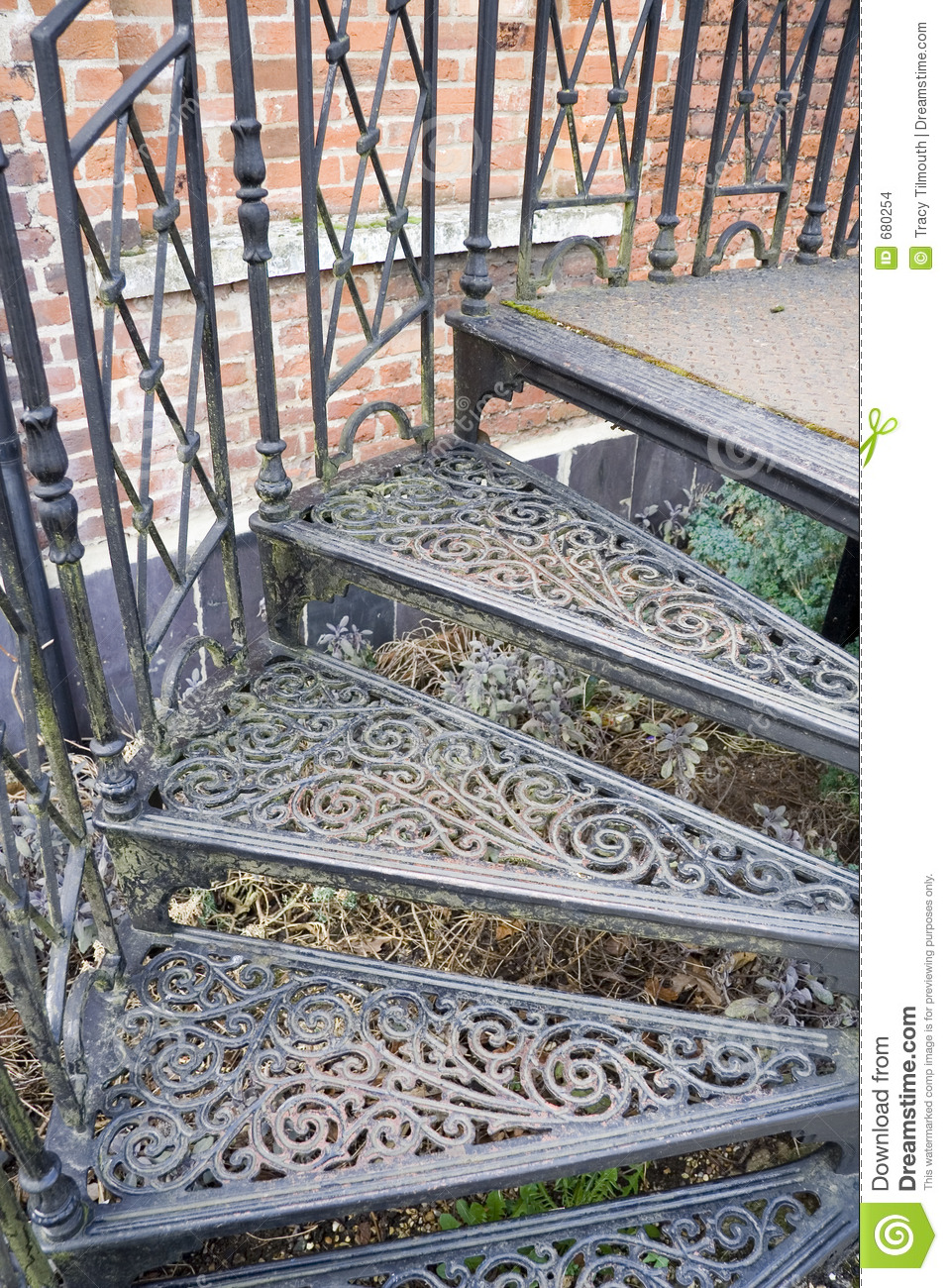 Decorative Stairs Stock Photo Image Of Staircase Garden