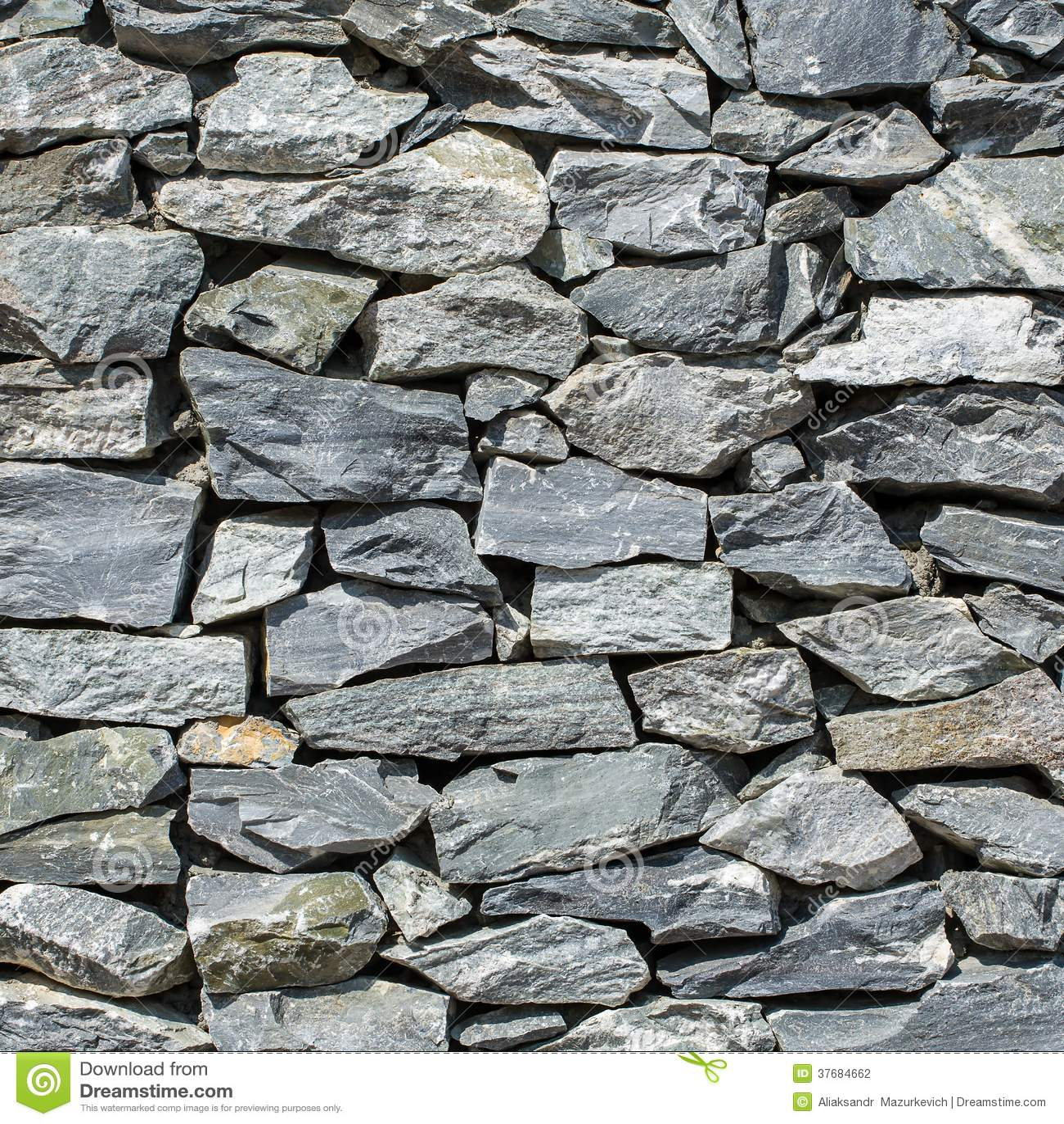 Decorative Stone Bricks Background Stock Photo Image Of