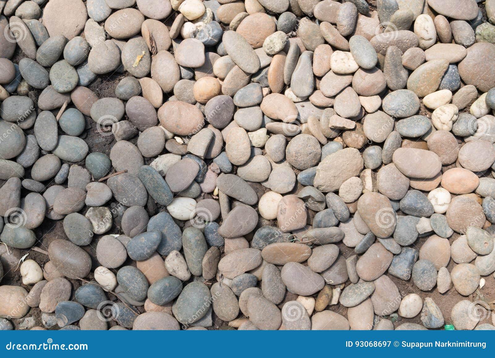 Decorative stone pebble background round gravel texture for Piedra decorativa para jardin