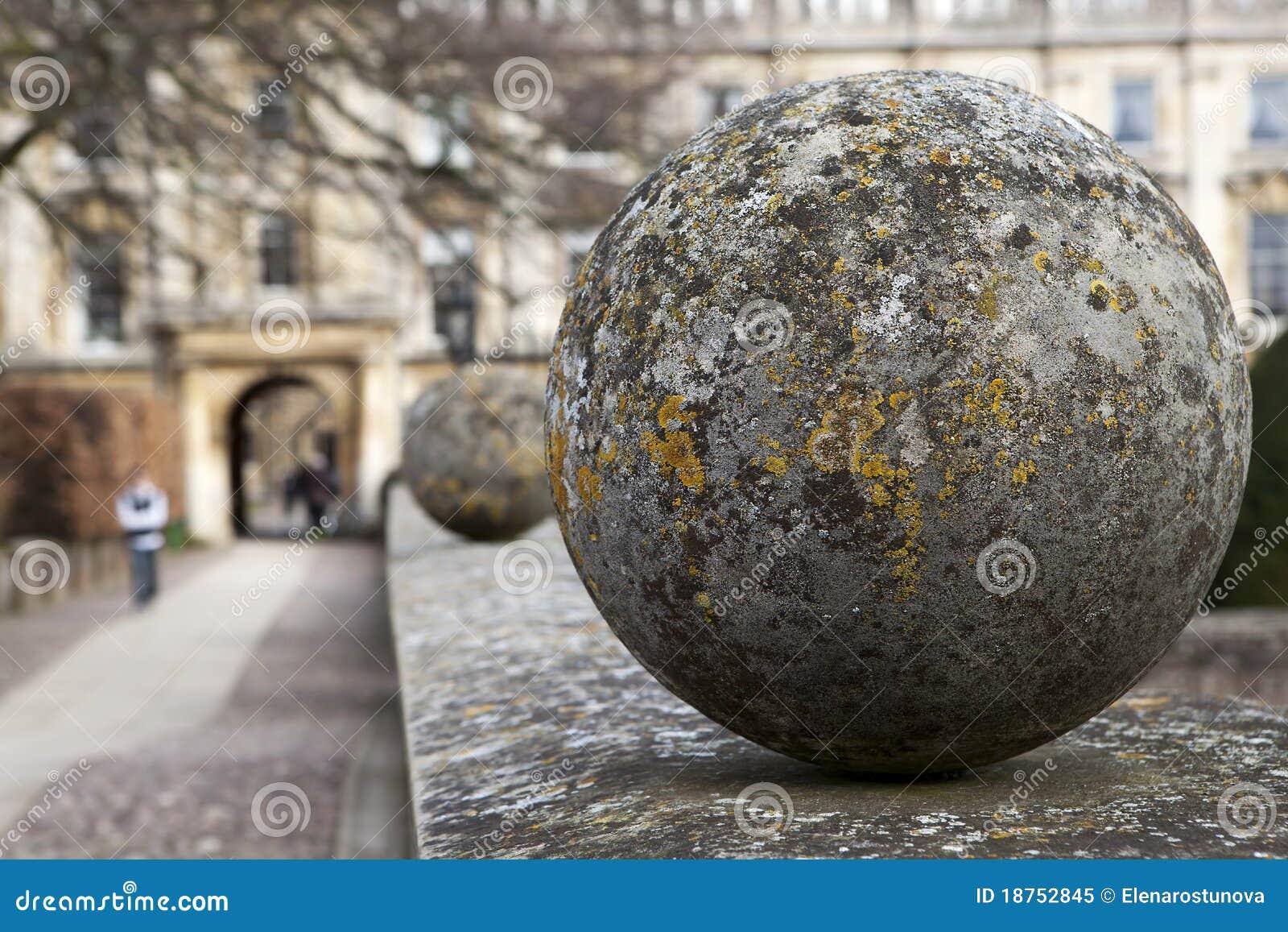 Decorative stone spheres royalty free stock photo image