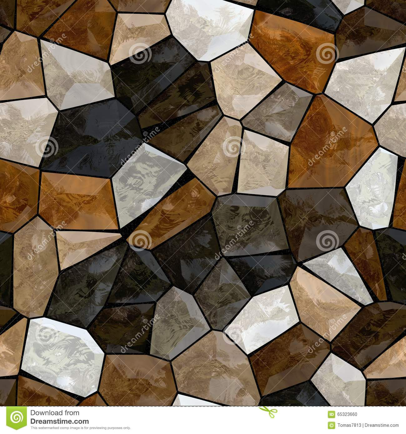 abstract computer decorative different generated illustration pattern shapes stones - Decorative Stones