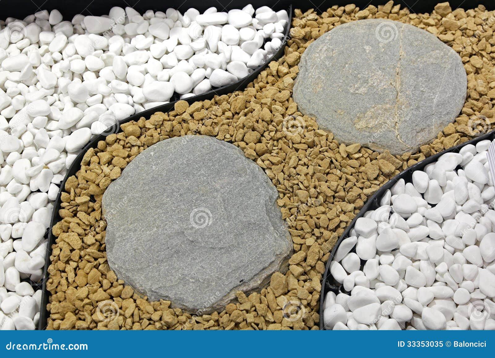 Decorative Pebbles For Landscaping : Decorative stones stock image of pebbles decor