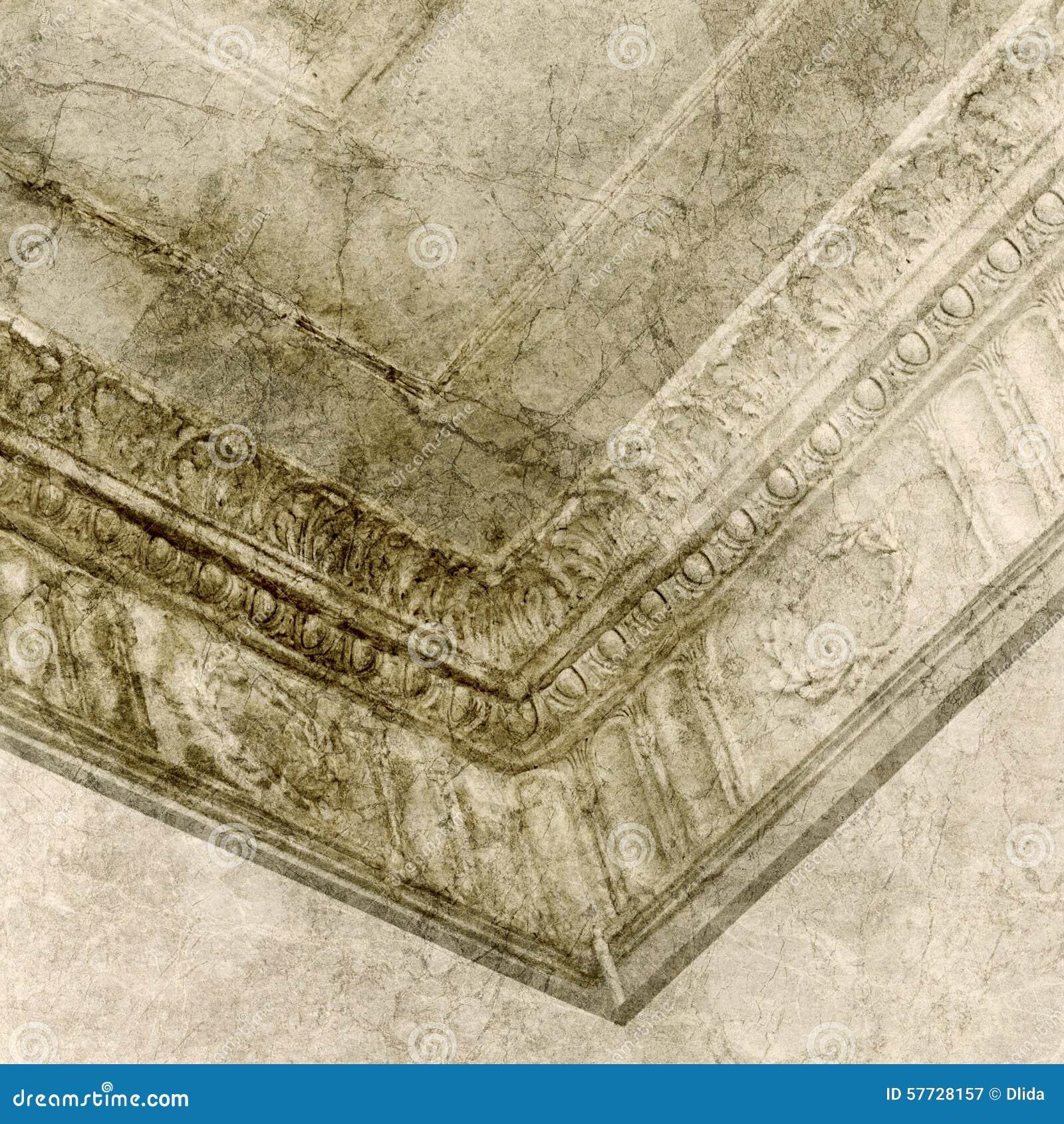 decorative stucco molding royalty free stock photography - Decorative Molding