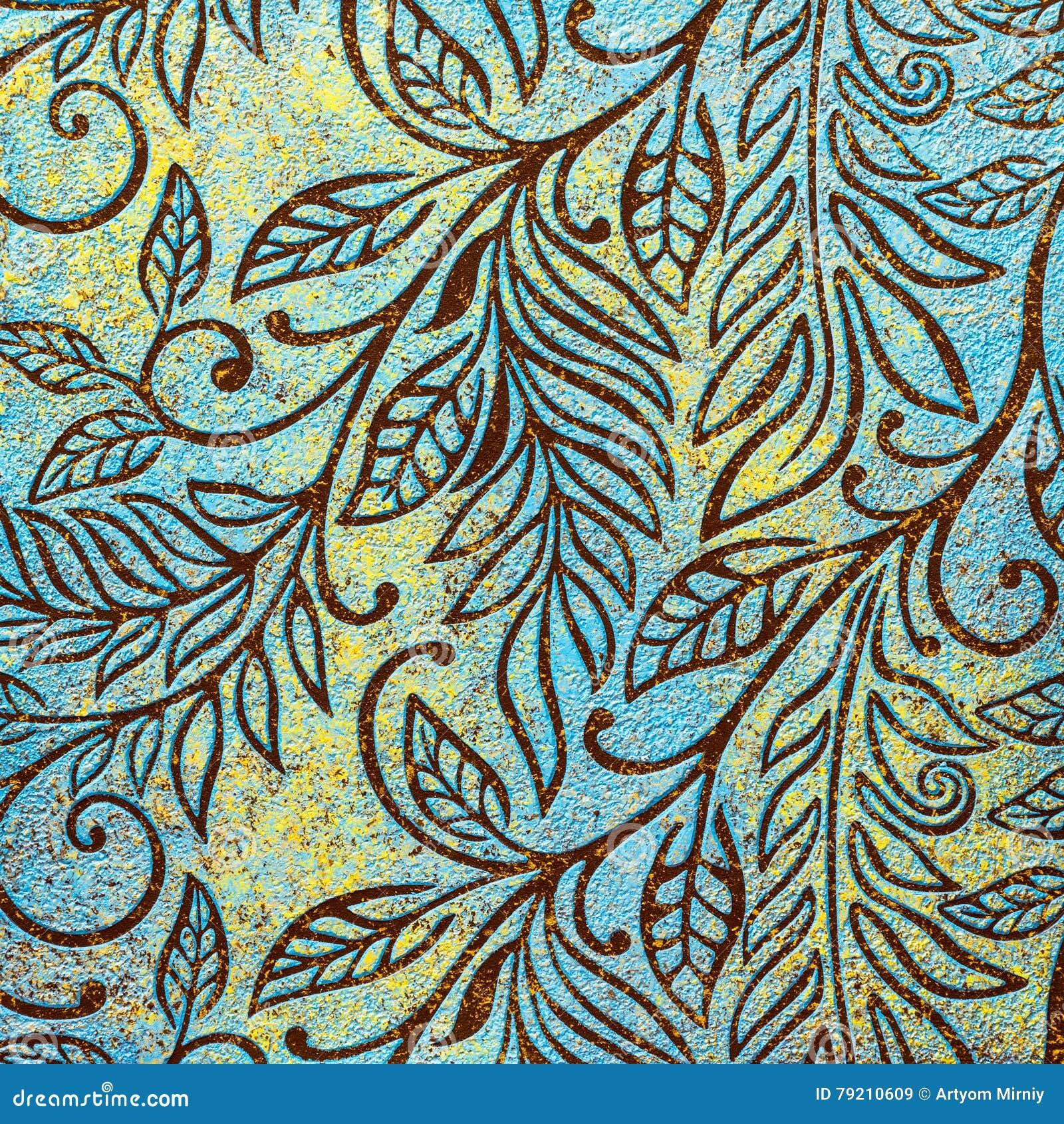 Decorative Stucco Texture Stock Illustration Image 79210609