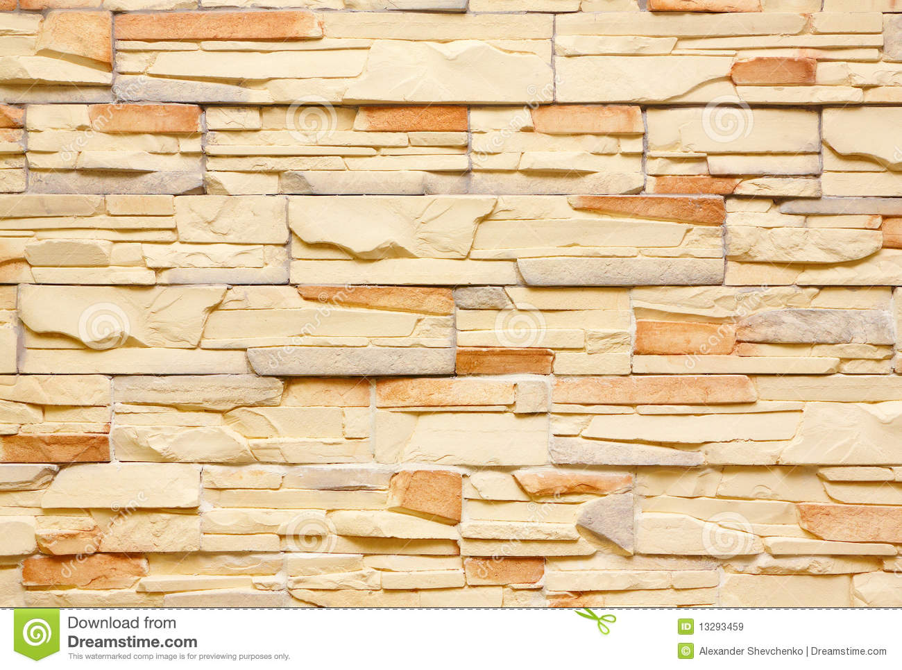 Decorative Tiles Wall Royalty Free Stock Images Image
