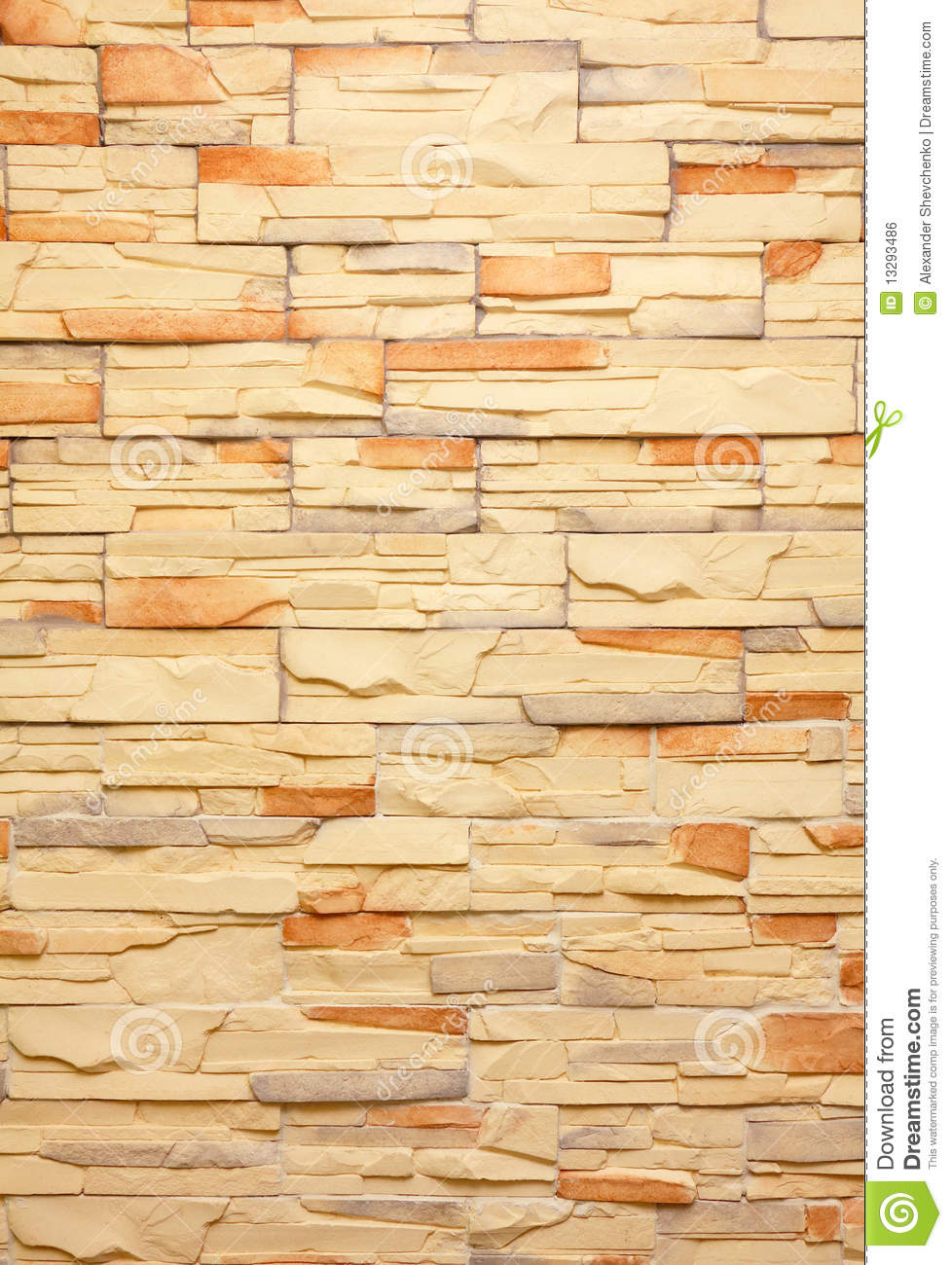Decorative Tiles Wall Royalty Free Stock Image Image