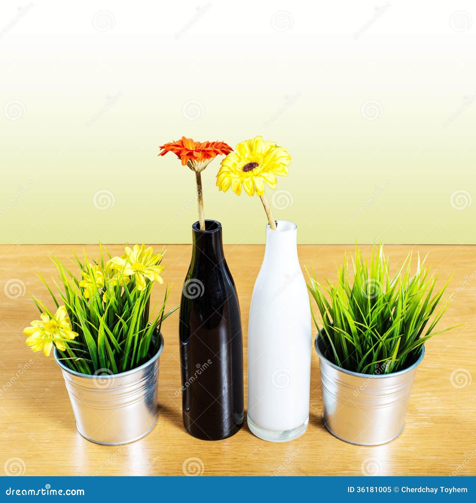 Decorative vase on the table stock image image 36181005 - Decorative flower vase ...