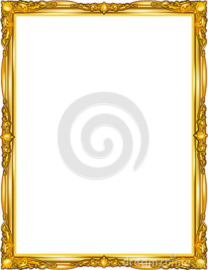 Decorative Vintage Frames And Borders Setphoto Frame With Corner