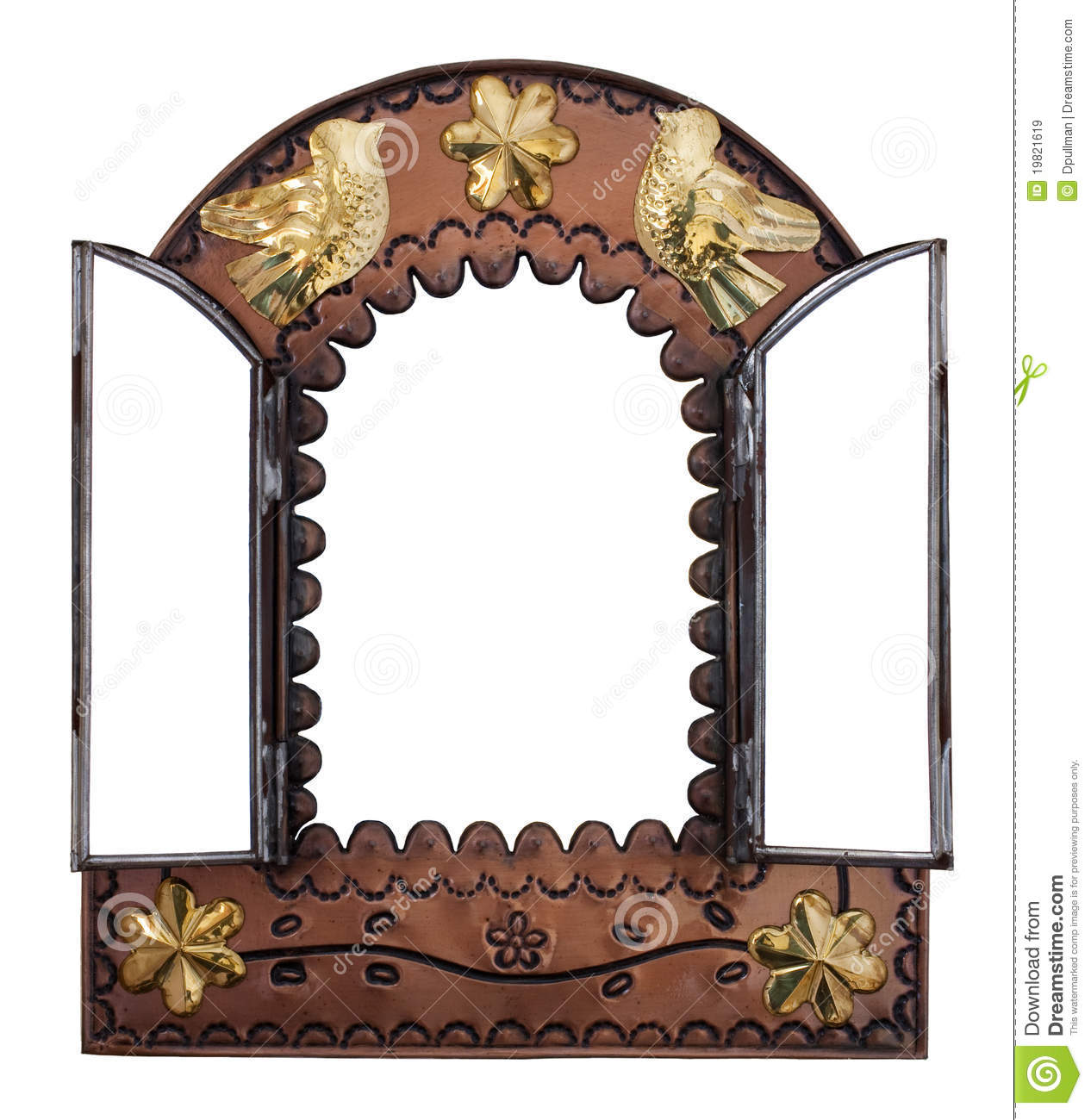 Wall Mirror Decor decorative mirrors on the wall stock images - image: 1738124