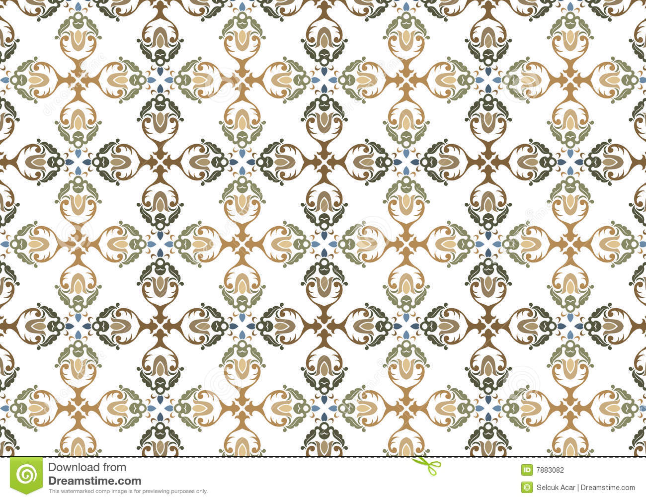 Decorative wallpaper design stock photography image 7883082 - Decoratie wallpaper eetkamer ...