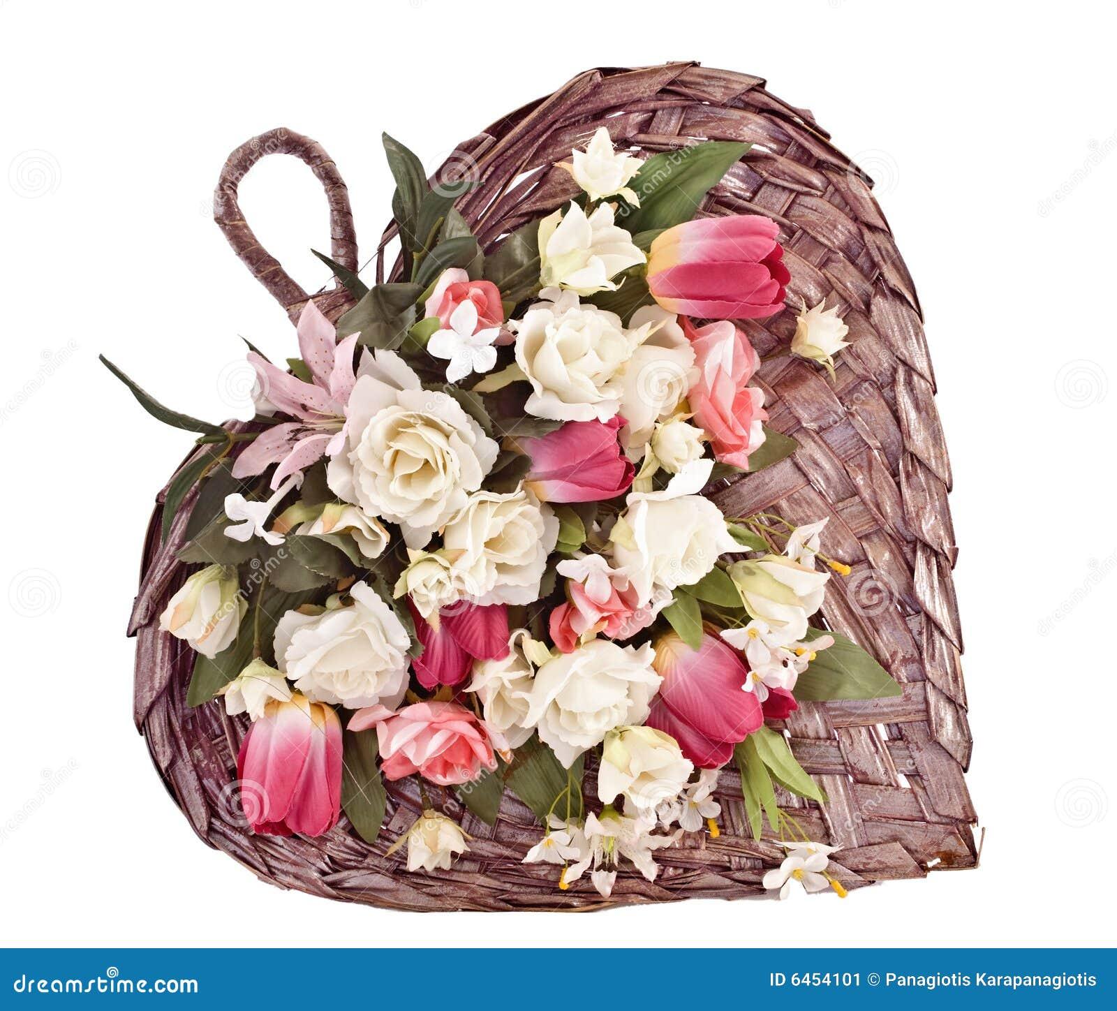 Decorative wick basket