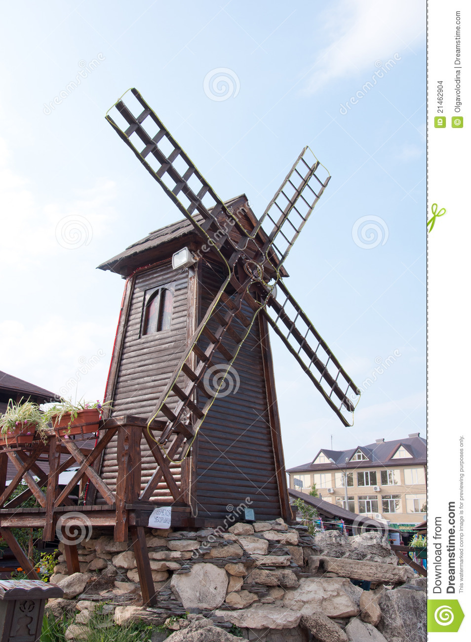 More similar stock images of ` Decorative windmill - wood sculpture `