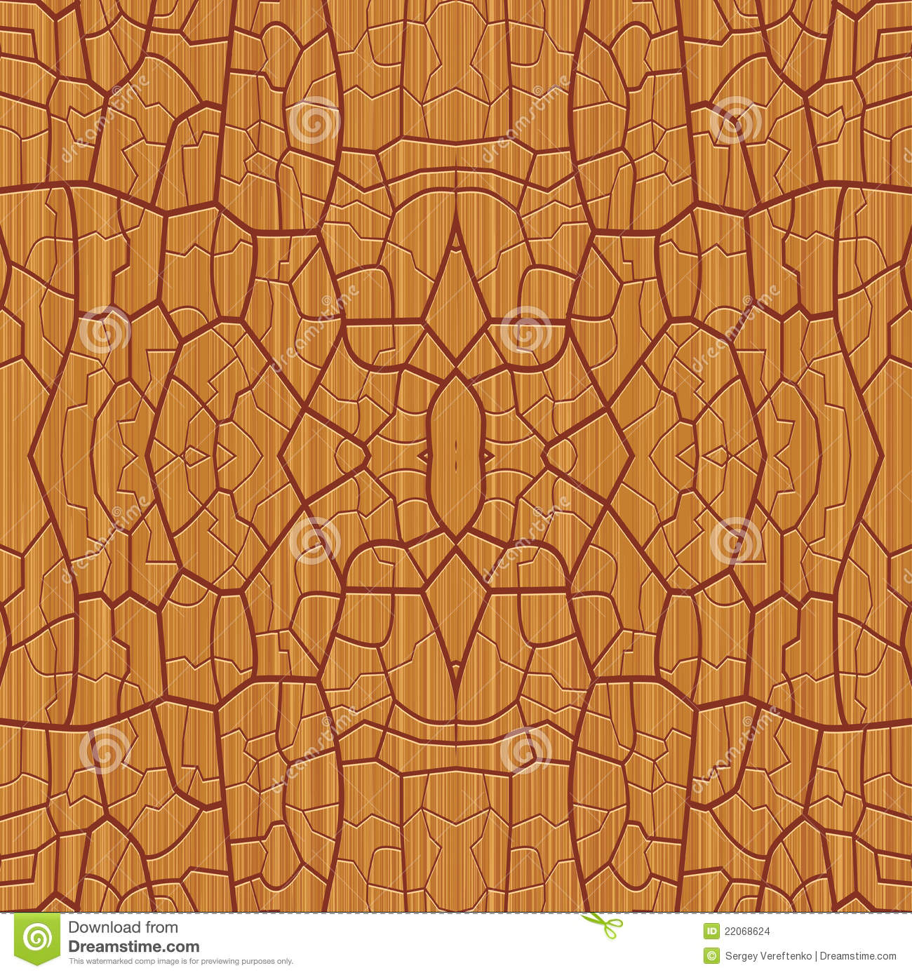 Decorative Wooden Pattern Stock Images - Image: 22068624