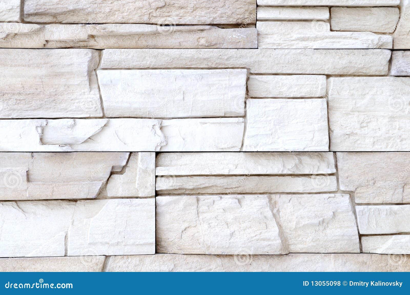 Decorazione bianca della parete di pietra fotografia stock - Pietra parete interna ...