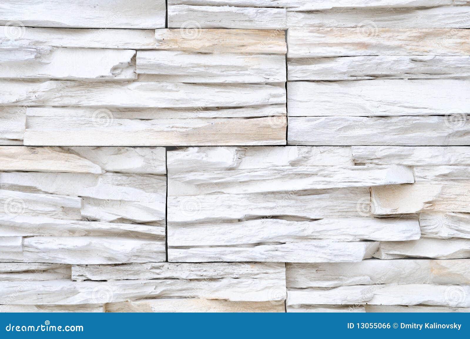 Pietre Bianca Per Interni decorazione bianca della parete di pietra del mattone