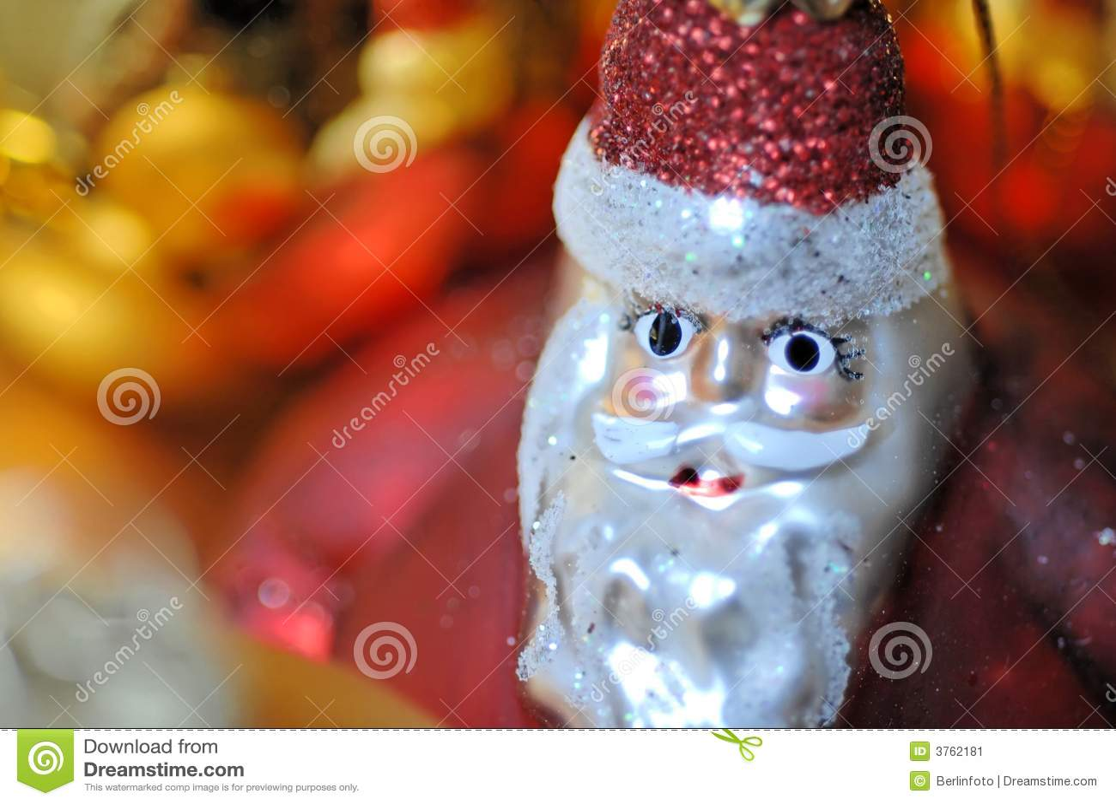 Decorazione del Babbo Natale