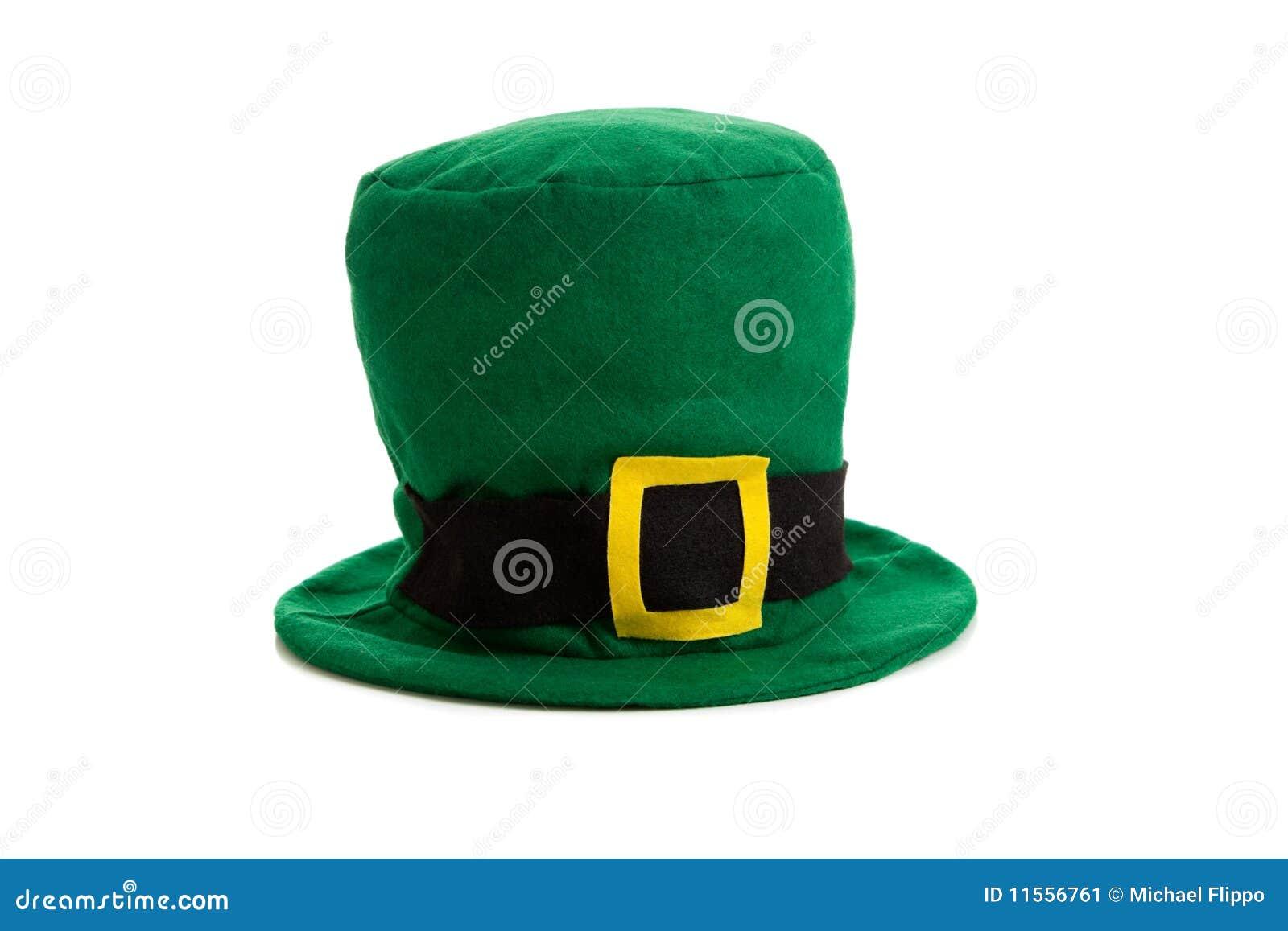 Decorazione del cappello di giorno della st patricks - St patricks giorno fogli di colore giorno ...