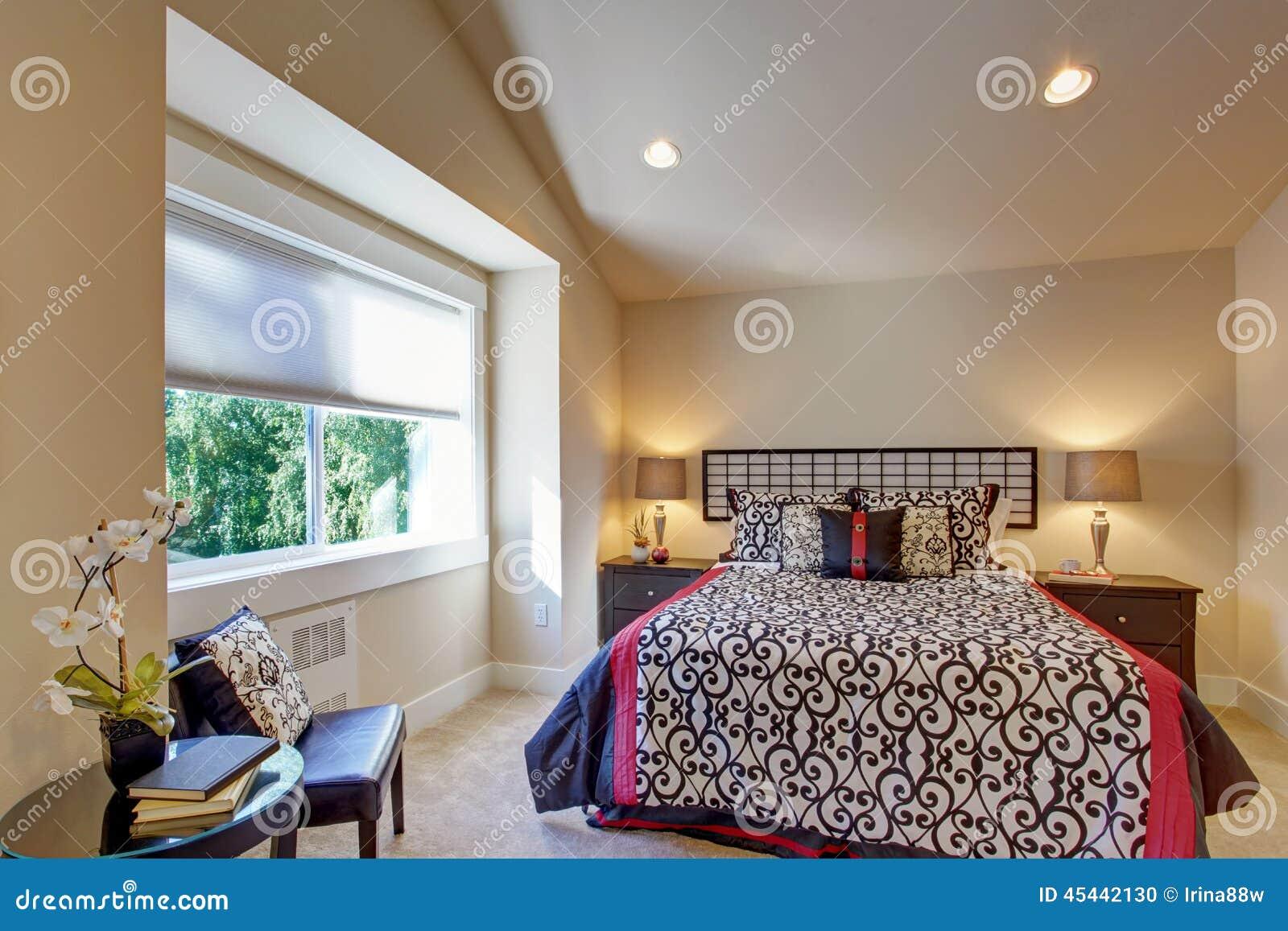 Stanze Da Letto Stile Giapponese : Decorazione della camera da letto di stile giapponese fotografia