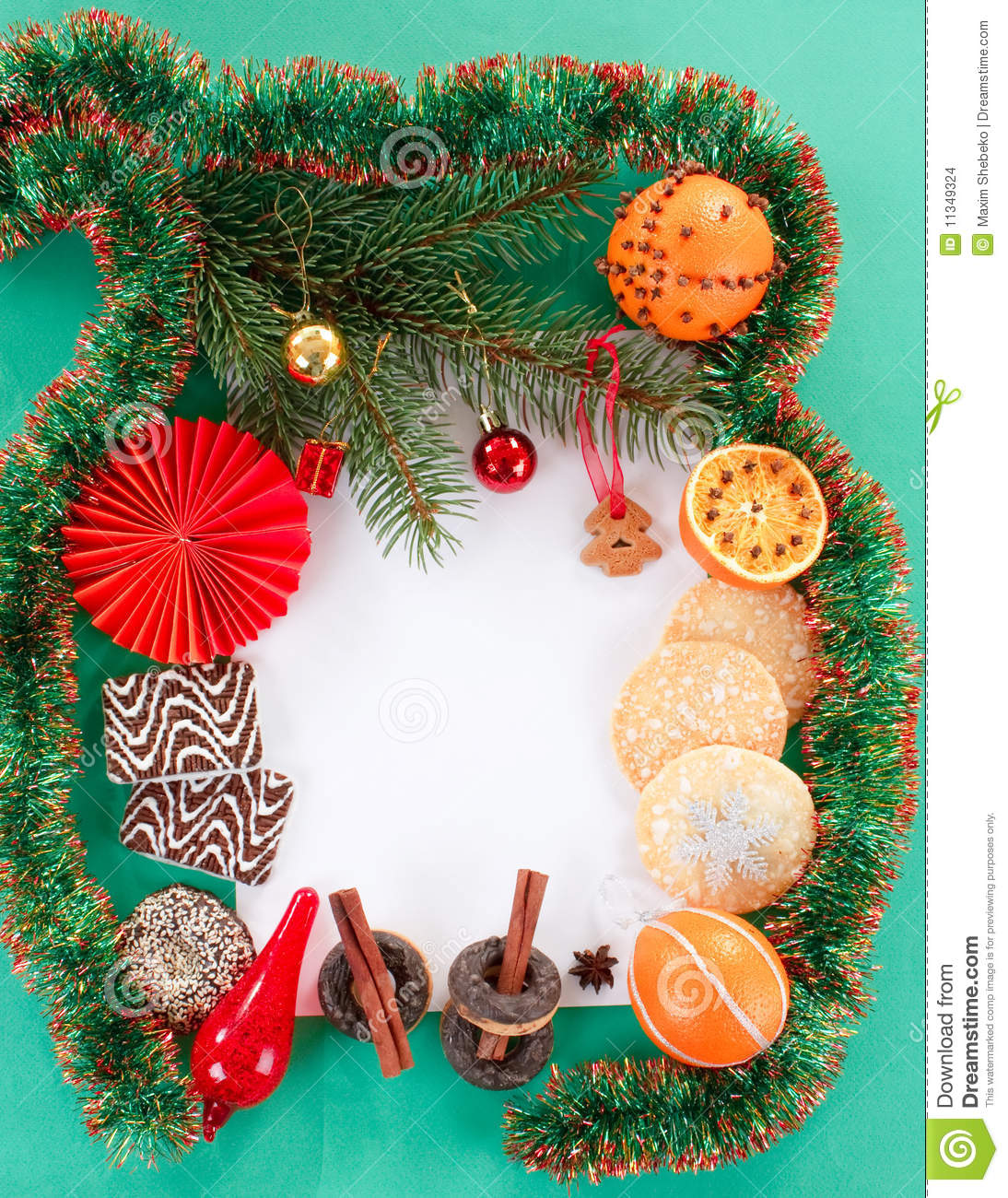 Decorazione di natale fotografia stock immagine di for Decorazione be u