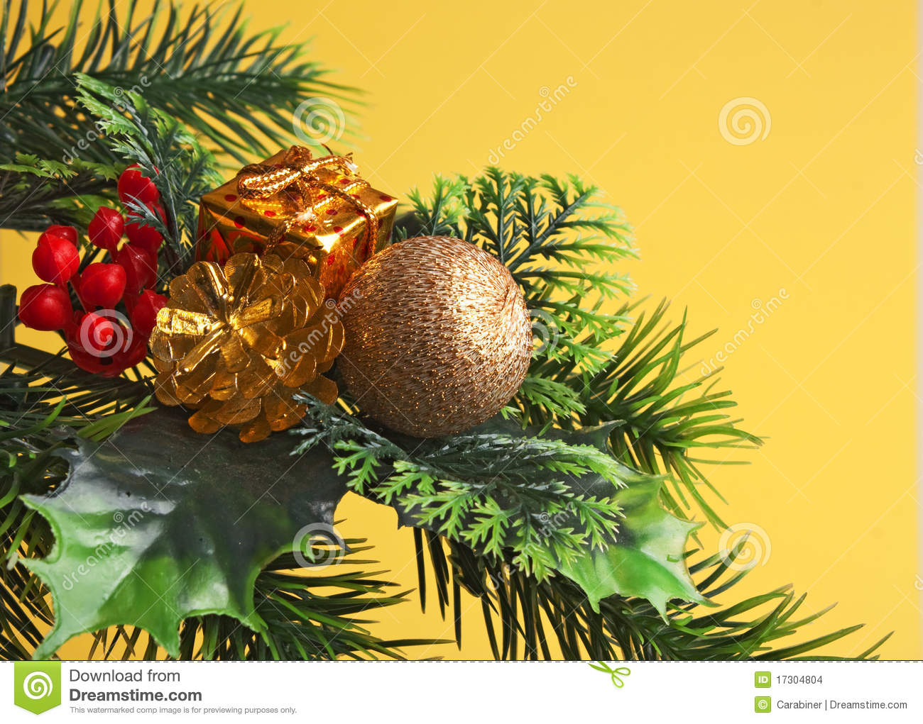 Decorazione di natale fotografia stock immagine di lucido for Decorazione be u