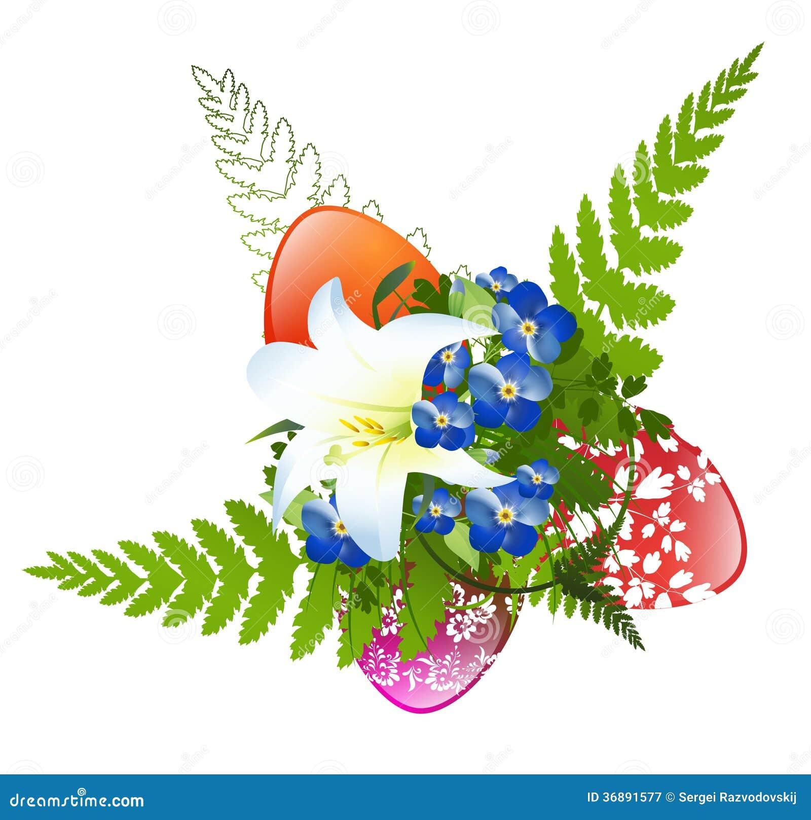 Download Decorazione di Pasqua illustrazione vettoriale. Illustrazione di festa - 36891577