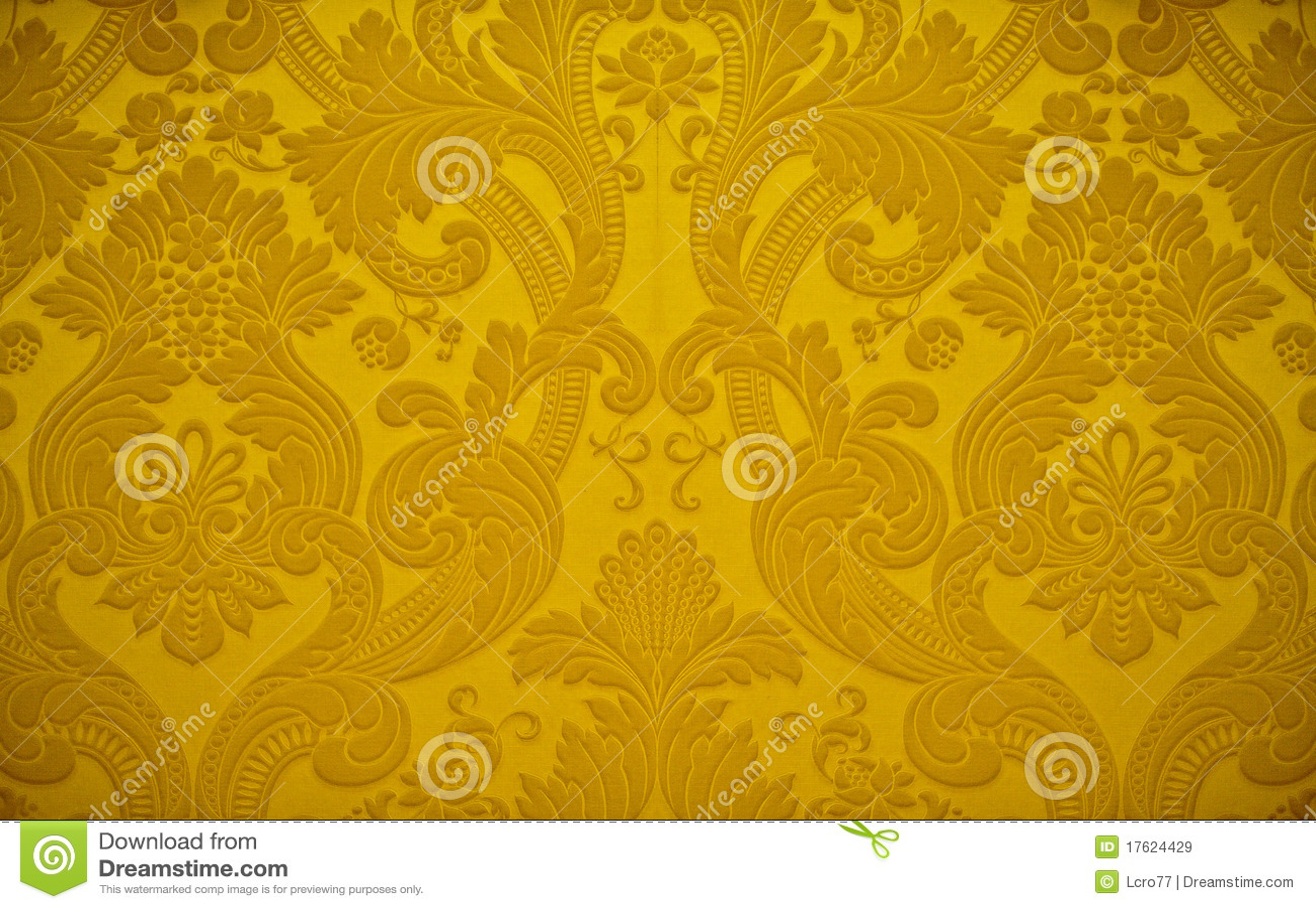 Decorazione dorata della carta da parati di struttura for Decorazione wallpaper