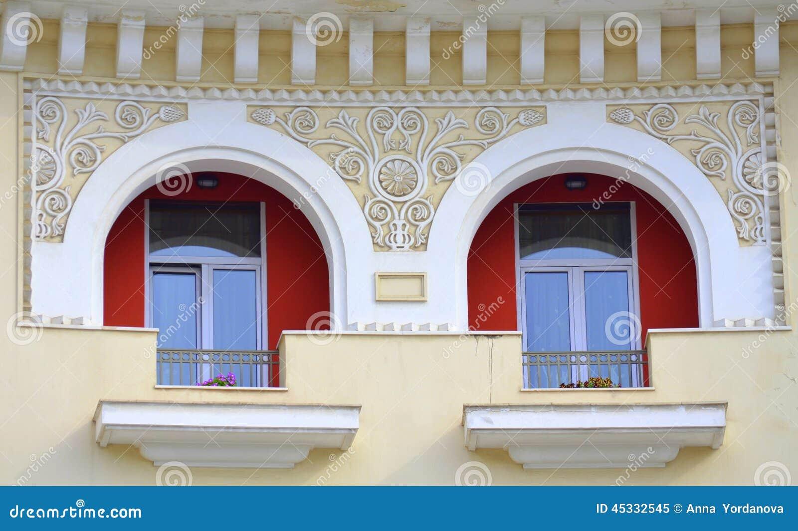 Decorazione greca della casa fotografia stock immagine 45332545 - Decorazione archi in casa ...