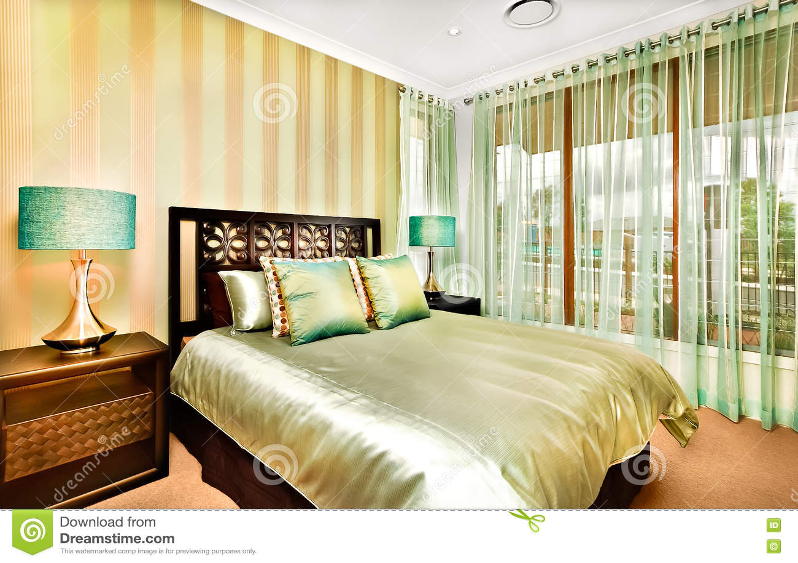 Decorazione interna della camera da letto moderna una casa for Casa lussuosa
