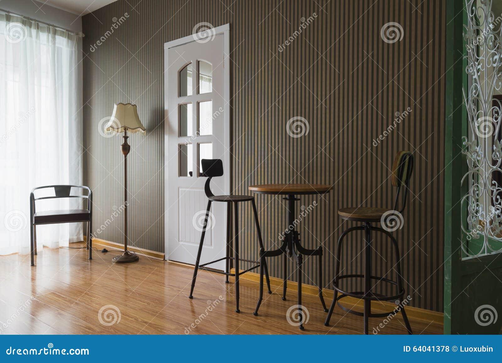 Decorazione interna della casa moderna fotografia stock for Mostra della casa moderna udine