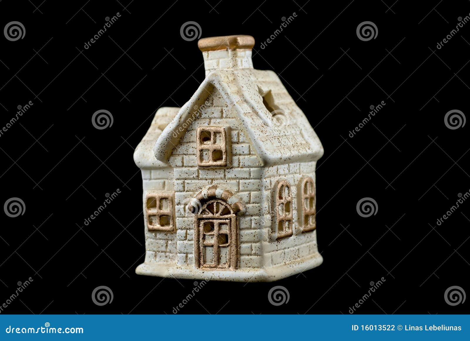 Decorazione molare della casa di natale fotografia stock for Planimetrie della casa di gambrel