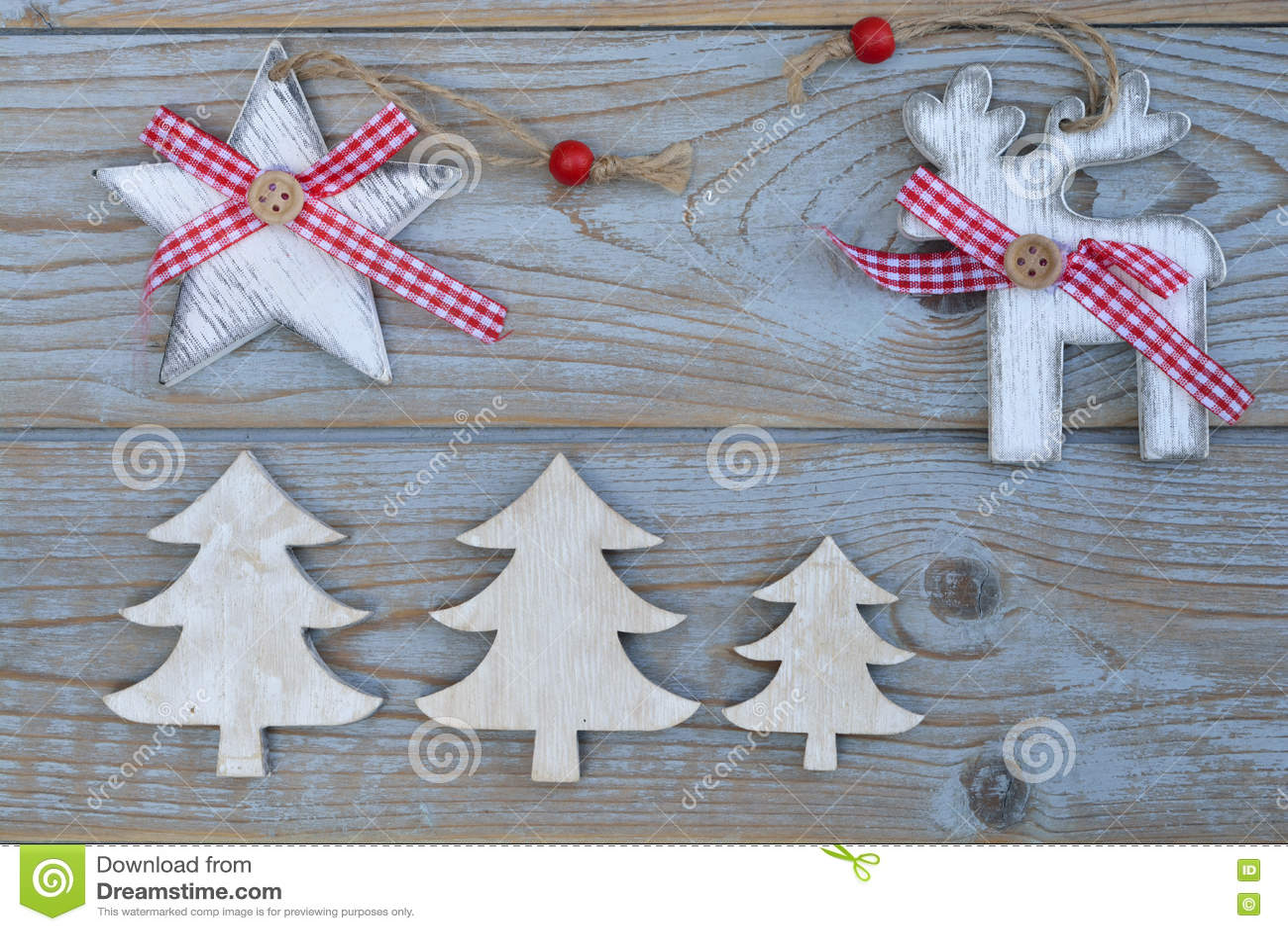Decorazioni In Legno Per Albero Di Natale : Decorazione rossa bianca di natale come l albero di natale la