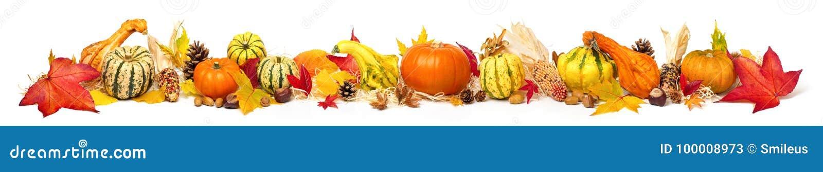 Decorazione variopinta di autunno, ampio formato extra