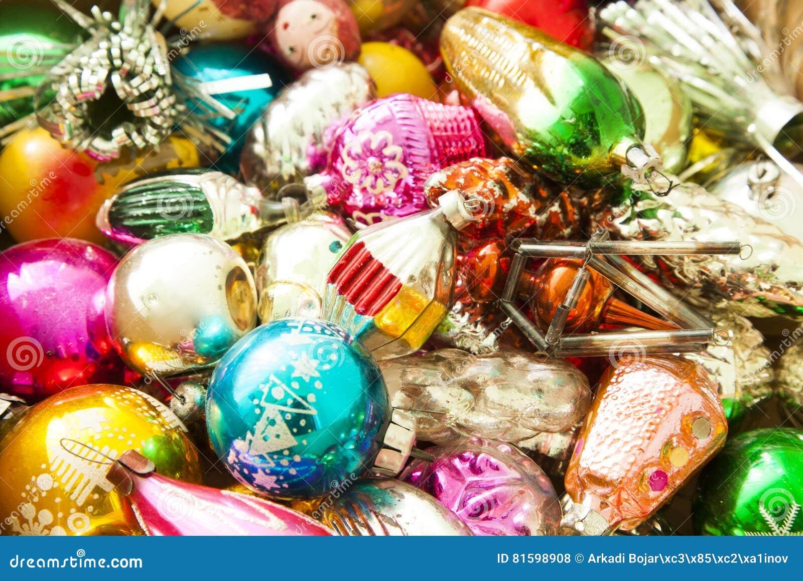 Foto Antiche Di Natale.Decorazioni Antiche Di Natale Fotografia Stock Immagine Di