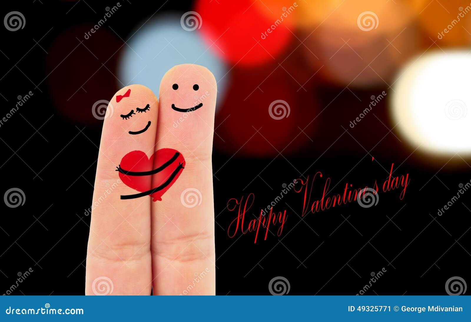 Dedos En Amor Imagen De Archivo Imagen De Pintura Amor 49325771