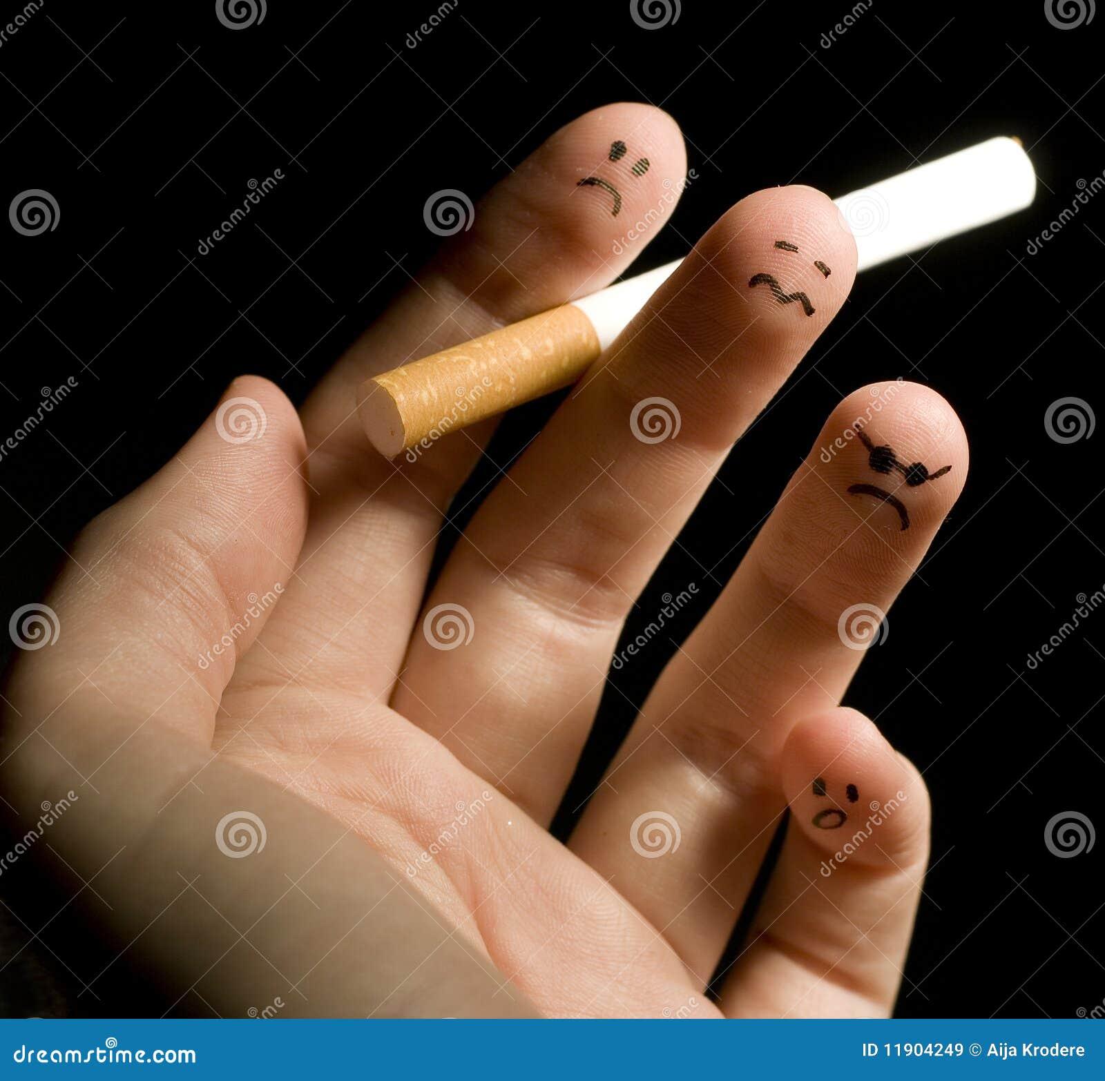 Dedos que fuman