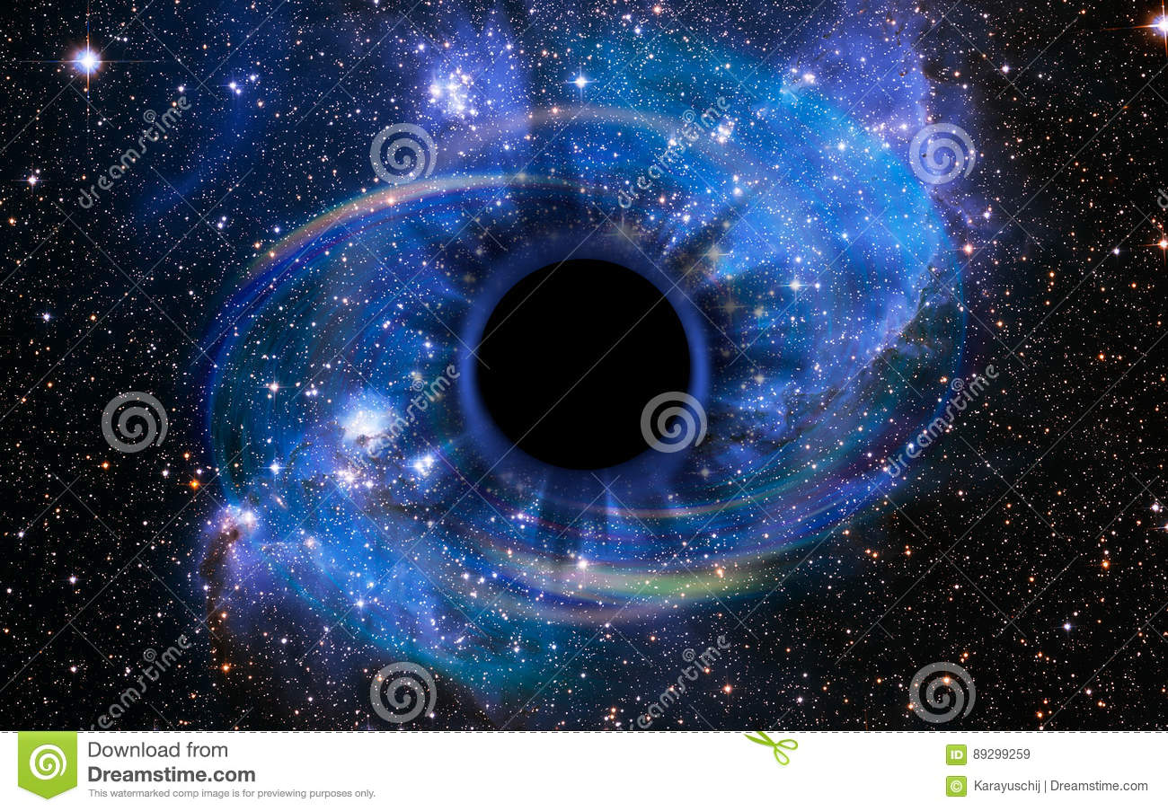 Deep Black Hole, Like an Eye in the Sky