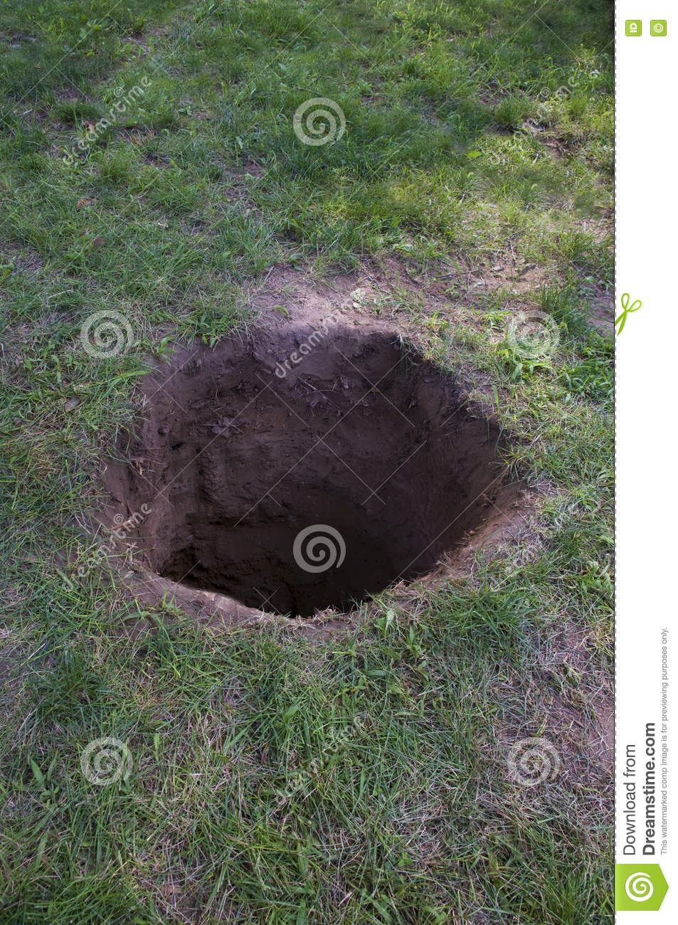 Dirt hole clipart