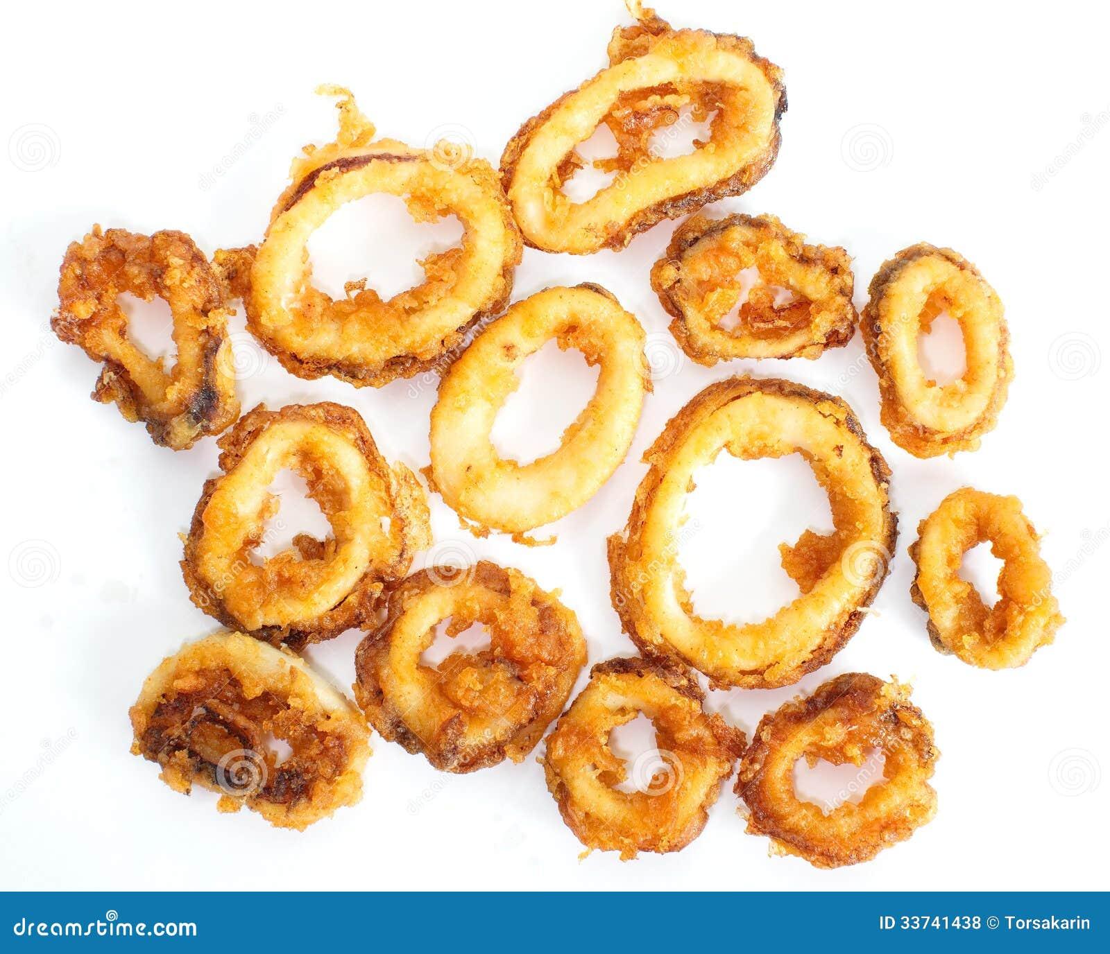 Deep Fried Calamari Rings Royalty Free Stock Photos - Image: 33741438