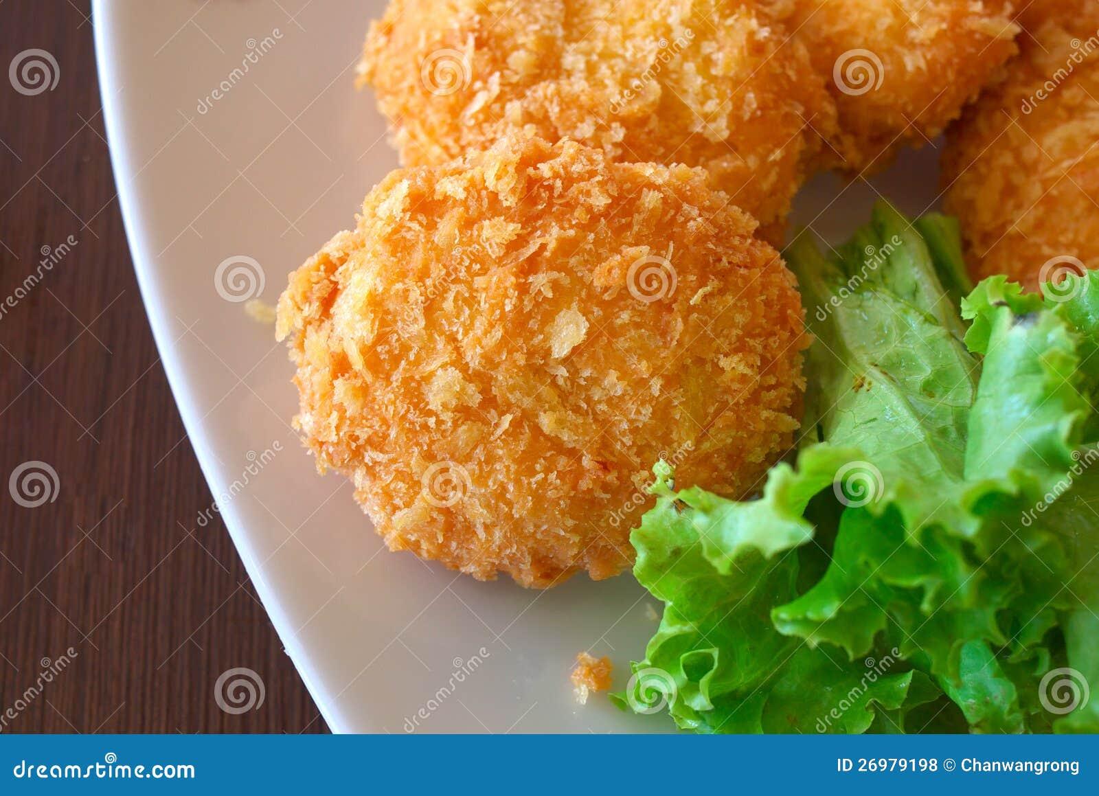 Deep-fried Shrimp Cakes Royalty Free Stock Photos - Image: 26979198