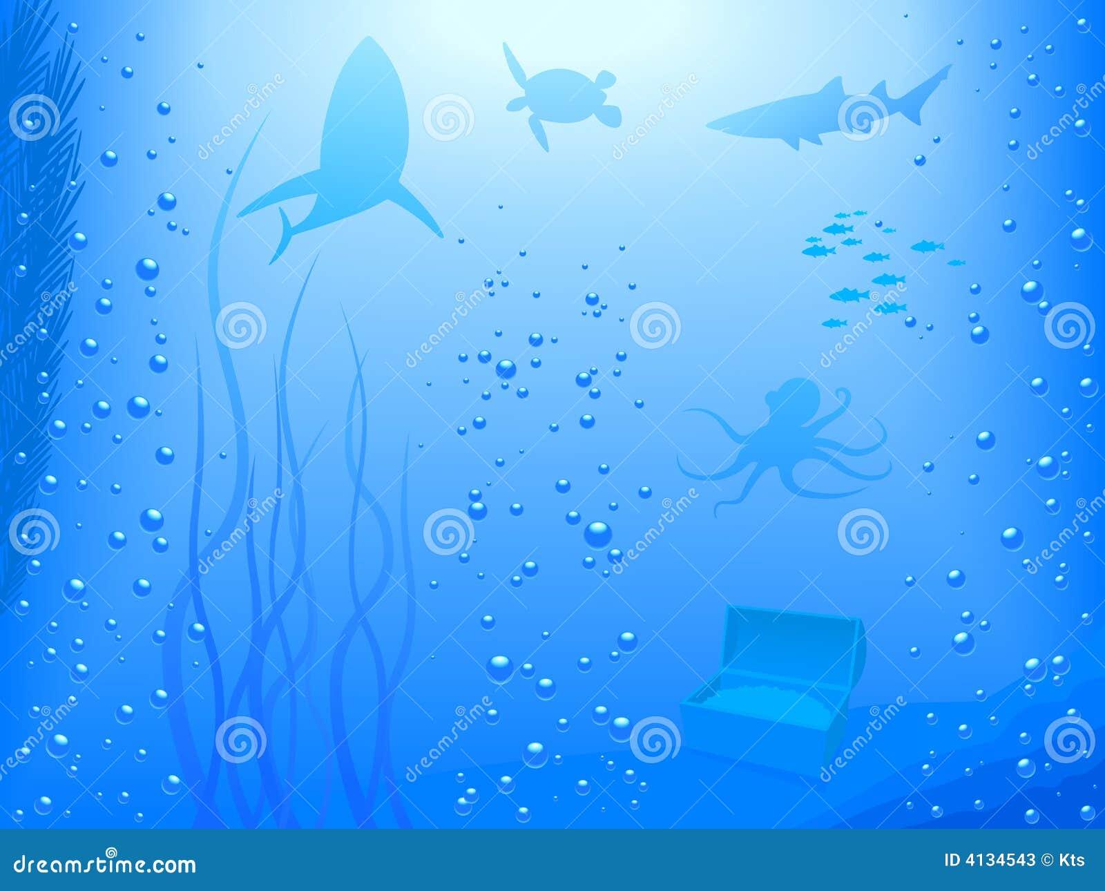 deep ocean vector stock vector illustration of vector 4134543